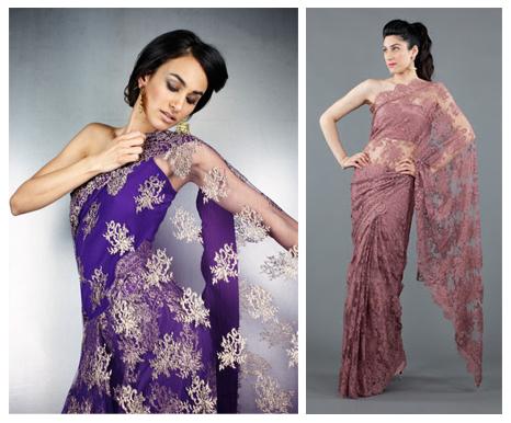 Anarkali mehndi paradise sari for indian beach wedding chantilly lace sarees aloadofball Gallery