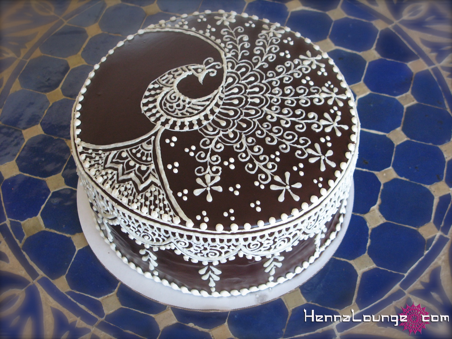 Mehndi Cake Designs : Mehndi cake on pinterest henna designs